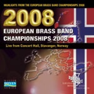 DOUBLE CD  European Brass Band Championships 2008 – Stavanger
