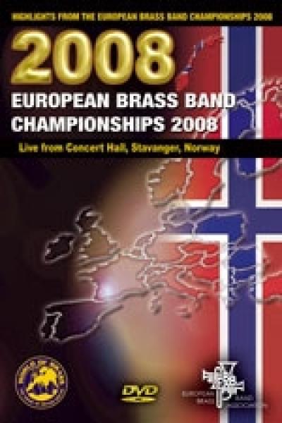 DOUBLE DVD European Brass Band Championships 2008 – Stavanger