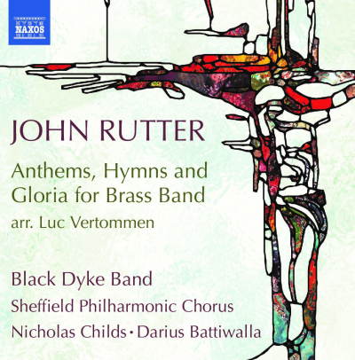 John Rutter Anthems, Hymns and Gloria for brass band Black Dyke Band
